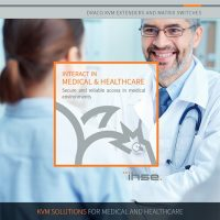 Broschure: KVM in Medical & Healthcare